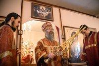Митрополит Ростислав возглавил богослужение в храме Новомучеников и исповедников Церкви Русской