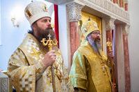Архиереи томской митрополии возглавили литургию на греческом языке