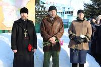 В селе Первомайском священник принял участие в мероприятиях, посвященных 31-й годовщине вывода советских войск из Афганистана