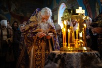 Завершилось томское паломничество духовника Оптиной пустыни