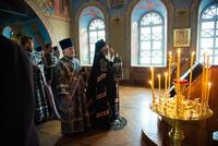 В день памяти своего небесного покровителя глава Томской митрополии возглавил праздничную Божественную литургию