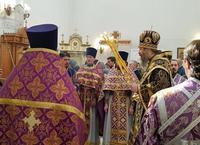 Архиерейское богослужение было совершено в храме г. Северска