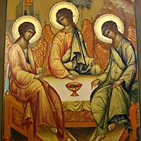 Чудо мироточения в Богородице-Алексиевском монастыре г.Томска