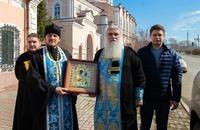 Вокруг Томска обнесена чудотворная икона Божией Матери с молитвой об ограждении людей от вредоносного поветрия