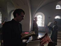 В храмах Томской епархии были совершены богослужения Великого Понедельника