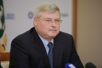Губернатор Томской области поздравил митрополита Ростислава с Пасхой