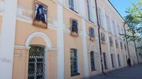 Портреты священников-участников Великой Отечественной войны появились на фасаде семинарии