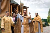 Престольный праздник отметил храм в д. Губино