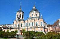 Архиерейское богослужение в Богоявленском кафедральном соборе г. Томска
