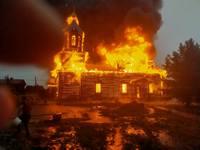 Создана группа по возрождению сгоревшего храма в с. Зоркальцево