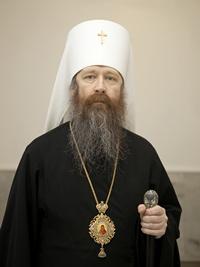 Митрополит Ростислав обратился к настоятелю и прихожанам сгоревшего храма с. Зоркальцево