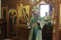 Митрополит Ростислав возглавил престольные торжества в северском храме
