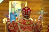 Престольные торжества в деревне Кандинка увенчались торжественным архиерейским богослужением