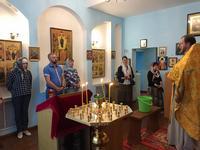 В храме при Томском заводе светотехники был совершен молебен с освящением производства