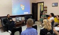 Священник Томской епархии встретился с сотрудниками Томского Управления Министерства юстиции