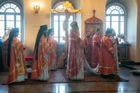 Митрополит Ростислав возглавил престольные торжества в томском монастыре