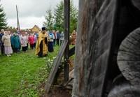 В Нагорном Иштане был совершен молебен о сохранении Петропавловской церкви