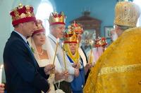 В осенний праздник святых Петра и Февронии Муромских в Томске прошли благотворительные венчания