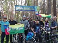 Томская молодёжь приняла участие в велопробеге, посвящённом Дню трезвости