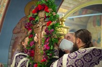 Томичи молитвенно встретили праздник Воздвижения Креста Господня