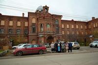 В Покровском храме Томска впервые за 100 лет было совершено богослужение