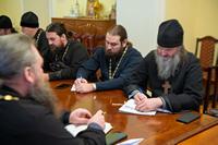 Благочинные и руководители отделов Томской епархии обсудили планы мероприятий на предстоящий год