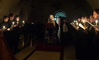 В храмах Томской епархии продолжается чтение канона предпразднства Рождества Христова (видео)