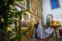 Глава Томской митрополии возглавил праздничное богослужение в Богородице-Алексиевском монастыре