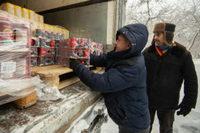 В рамках благотворительной акции нуждающиеся томичи и жители области получили продуктовые наборы