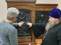 Представитель Томской епархии посетил Всероссийское общество слепых