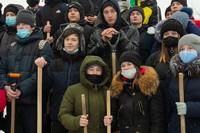 «Томская Голгофа» объединила православную и студенческую молодёжь