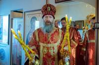 Глава Томской митрополии возглавил престольные торжества в храме на Каштачной горе