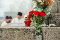 Томичи почтили память новомучеников у поклонного креста