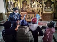 Воспитанники Центра социальной помощи семье и детям посетили Богородице-Алексиевский монастырь