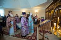 В Неделю 5-ю Великого поста глава Томской митрополии возглавил праздничное богослужение в Феодосиевском храме