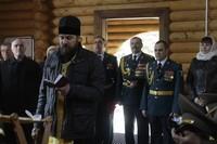 Священник Томской епархии принял участие в праздновании 75-летия создания соединений и воинских частей по охране важных государственных объектов