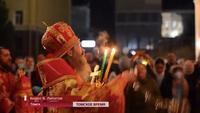 На телеканале «Томское время» вышел репортаж о ночном пасхальном богослужении