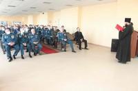 Священник Томской епархии поздравил пожарных с профессиональным праздником
