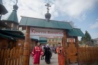 Борисо-Глебский храм с. Корнилово отметил престольный праздник архиерейским богослужением