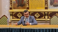 Руководитель Отдела по взаимоотношениям Церкви и общества представлял Томскую епархию на встрече с В.Р. Легойдой