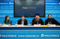 В Томске прошла пресс-конференция по проведению XXXI Духовно-исторических чтений памяти святых равноапостольных Кирилла и Мефодия