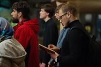 Ночная миссионерская Литургия для молодежи была совершена в Свято-Троицкой церкви