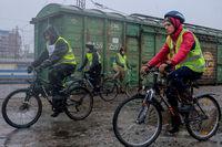 По «крестному пути»: томичи проехали на велосипедах дорогой спецпереселенцев