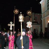Верующие Томской епархии празднуют Светлое Христово Воскресение