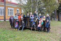 Воспитанники воскресной школы Свято-Троицкого храма побывали на экскурсии в Музее-усадьбе Лампсакова