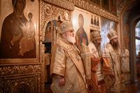 В Неделю 18-ю по Пятидесятнице томичи молились вместе с тремя архипастырями