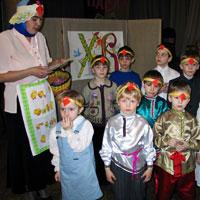 Маленькие прихожане участвуют в Пасхальном концерте