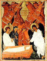 Сюжет телепередачи «Пастырское слово», посвященный празднику Жен Мироносиц (видео)