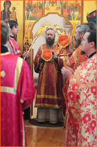 Архиепископ Ростислав совершил поездку в Кожевниковский район