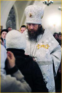 В праздник  Вознесения Господня архиепископ Ростислав возглавил богослужения в Богоявленском кафедральном соборе